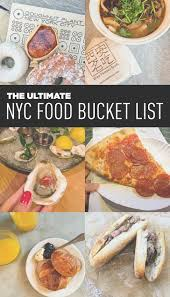 Best Places To Eat In New York City YouTube