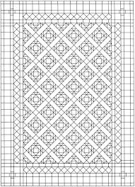 Printable Quilt Coloring Pages