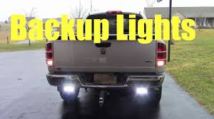 Installing Reverse Back Up Lights - YouTube Automotive Household Truck Trailer Rv Lighting Led Light Bulbs Masculine Backup Lights For Trucks Led Backup Problem With Back Up Led Strobe Kit 2017 Ford F250 And Lights Youtube 2016 Silverado Auxiliary Trucklitesignalstat 24 Diode Clear Rectangular Backup Frontier Gear Diamond Series Full Width Black Rear Hd Eyourlife 20 Tail Bar Dc12v Red Amber White 2012 Lariat 4wd Transndence Amazoncom Krator Hitch Brake Reverse Signal For M998 Hmmwv Marks Tech Journal Looking Suggestion On Enthusiasts