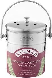 kilner küchen komposter 2 liter edelstahl küchenkomposter