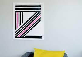 DIY Canvas Washi Tape