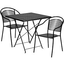 28'' Square Black Indoor-Outdoor Steel Folding Patio Table Set With 2 Round  Back Chairs Hampton Bay Chili Red Folding Outdoor Adirondack Chair 2 How To Macrame A Vintage Lawn Howtos Diy Image Gallery Of Chaise Lounge Chairs View 6 Folding Chairs Marine Grade Alinum 10 Best Rock In 2019 Buyers Guide Ideas Home Depot For Your Presentations Or Padded Lawn Youll Love Wayfair Details About 2pc Zero Gravity Patio Recliner Black Wcup Holder Lawnchair Larry Flight Wikipedia Cheap Recling Find Expressions Bungee Sling Zd609