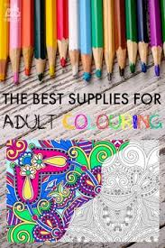 Colored Pencils Are The Most Used Supply In Adult Coloring Books You Truly Addicted To This Is List For