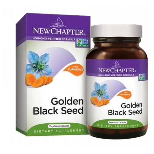 New Chapter Golden Black Seed with Turmeric, Capsules - 30 count