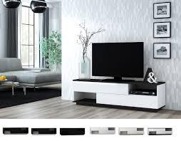 agnes rtv lowboard tv board sideboard weiß schwarz sonoma hochglanz 160 cm