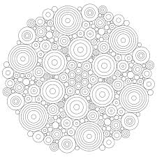 Download Coloring Pages Printable Abstract Free Mandala Sheets Wisacare Line Drawings