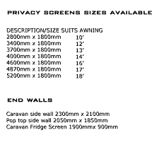 CARAVAN END WALL PRIVACY SCREEN 2300 X 2100 SUN SHADE CLOTH - ROLL ... Awning With Sides Side Awnings Related Keywords Suggestions Manufacturer Of Caravan Annexes And Accsories Walls Hybrid Shade Long Wall Caravan Awning Walls Bromame Sides Perth Doors Door Canopy For Caravans Omnistor Coast Privacy Screen End Sunscreen Sun Rollout Shades Archives Page 2 New Age Captain Cook Australia Wide Alinum Superior