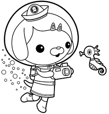 The Art Gallery Octonauts Coloring Pages