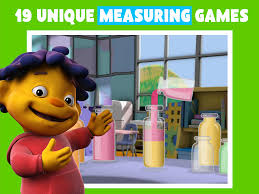 Caillou In The Bathtub by Pbs Kids Measure Up Mobile Downloads Pbs Kids