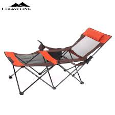100 Aluminum Folding Lawn Chairs Heavy Weight Beach Chair Elevated Bed Portable OutdoorPatio