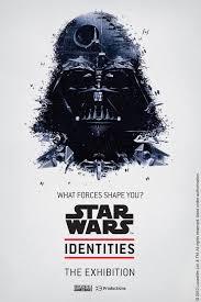 Incredible STAR WARS IDENTITIES Exhibit Poster Art
