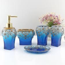 aliexpress com buy dark blue france royal bathroom accessory