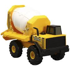 Fingerhut - Tonka Steel Cement Mixer Truck