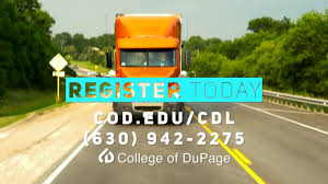 100 Truck Driving School Houston College Of DuPage Get Your CDL With COD
