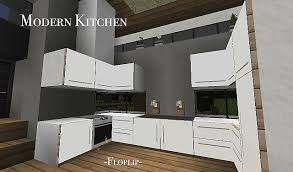 Impressive Modern Kitchen USING ITEM FRAMES Minecraft Project In