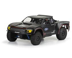 2017 Ford F-150 Raptor Truck Body (Clear) (Yeti SCORE Truck) By ... 2017 Ford Raptor Race Truck Foutz Motsports Llc 2010 F150 Svt The Crew Wiki Fandom Powered By Wikia F22inspired Raises 300k At Eaa Airventure Auction New Bright Rc 16 Scale Red Ebay Custom F22 Heading To Auction Autoguidecom News Mad Industries Builds 2018 For Fords Sema Display Just Trucks 124 Shows Off Baja 1000 Race Truck Rtr Slash 110 2wd Blue Traxxas Forza Motsport