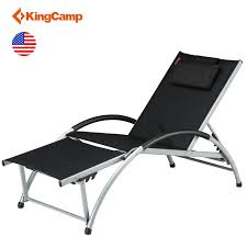 Details About KingCamp Adjustable Chaise Lounge Chair Recliner Outdoor  Folding Gym Loungers Recliners Lounge Chair Sun Lounger Folding Beach Outsunny Outdoor Lounger Camping Portable Recliner Patio Light Weight Chaise Garden Recling Beige Hampton Bay Mix And Match Zero Gravity Sling In Denim Adjustable China Leisure With Pillow Armrest Luxury L Bed Foldable Cot Pool A Deck Travel Presyo Ng 153cm 2 In 1 Sleeping Magnificent Affordable Chairs Waterproof Target Details About Kingcamp Gym Loungers