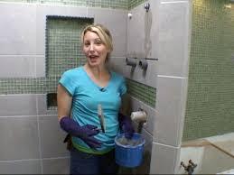 amazing installing tile shower installing a tile shower how to