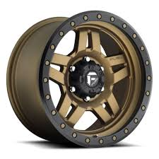 100 17 Truck Wheels Details About 5 Fuel Anza D583 Bronze Jeep Wrangler JK