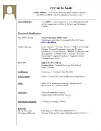 Resume Work Experiences No Unbelievable Experience Examples For Students Restaurant