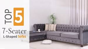 104 Designer Sofa Designs L Shaped S 2020 S Top Five 7 Seater L Shaped Set By Wooden Street Youtube