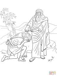 King David Coloring Pages With Bible