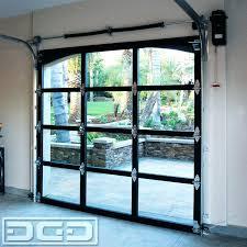 Glass Garage Door Aluminum Glass Garage Doors Glass Overhead Doors