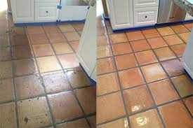 Saltillo Tile Cleaning Los Angeles by Mexican Pavers Cleaning Sealing And Restoration
