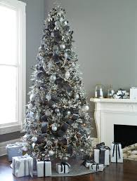 Frosted Fraser Fir Christmas Tree Design Ideas For Contemporary Living Room Decoration With Balsam Hill