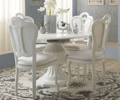 Tuttomobili Greta   Greta White Finish Round Extension Dining Table ... Kitsch Round Glass Table Set Of 4 Chairs Dfs Ireland Mcombo Mcombo Ding Side 4ding Clear Ingatorp And Chairs White Ikea Cally Modern Table With La Sierra Fniture Grindleburg 60 Woodstock Carisbrooke Barker Stonehouse Dayton 48 Upholstered Shop Hlpf5cap 5 Pc Small Kitchen Setding Hanover Traditions 5piece In Tan A Jofran Simplicity Chair Slat Back Pier 1 W Aptdeco Rovicon Lulworth Pedestal