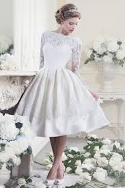 25 Utterly Gorgeous Tea Length Wedding Dresses