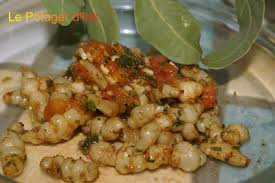 comment cuisiner des crosnes crosnes à la provençale recette