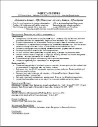 Sample Resume Secretary Position Resumes For Receptionist Admin Positions Images Free