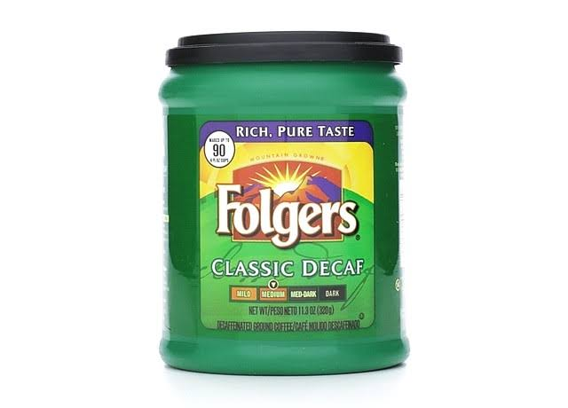 Folgers Classic Decaf Medium Ground Coffee - 11.3oz