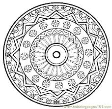Best Ideas Of Printable Mandala Coloring Pages Adults Free On Example