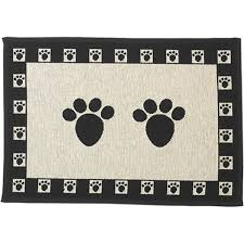 Amazoncom PetRageous Paws Tapestry Mat Feeder Large28