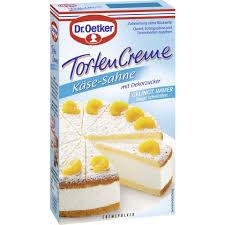 dr oetker tortencremepulver käse sahne 150 g