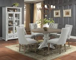 Lane Furniture Urban Swag Oak 7pc Round Dining Table Set With ... Trisha Yearwood Home Music City Hello Im Gone Ding Room Table Grey Griffin Cutback Upholstered Chair Along With Dark Wood Amazoncom Formal Luxurious 5pc Set Antique Silver Finish Tribeca Round And 2 Upholstered Side Chairs American Haddie Light Tone 4 Value Hooker Fniture Corsica Rectangle Pedestal Matisse With W Ladder Back By Paula Deen Vienna Merlot Kayla New