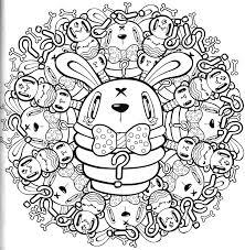 Classy Kawaii Coloring Book