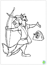 Draw Robin Hood Coloring Pages 36 On Print With
