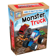 100 Monster Truck Kids Craft For Kids Make Paint Your Own Monster Truck Eduk8 Worldwide