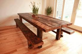 diy dining table and chairs light brown wooden kitchen counter