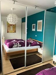 moderner schwebetüren schrank schiebetüren schlafzimmer spiegel