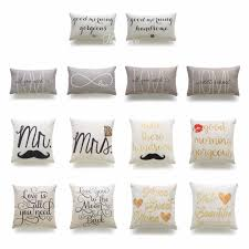 Decorative Lumbar Throw Pillows by Popular Cover Cushion Buy Cheap Cover Cushion Lots From China
