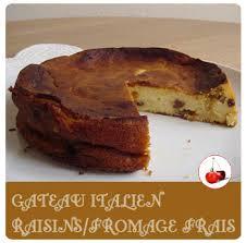 dessert aux raisins frais gateau italien raisins fromage frais