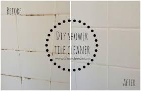 diy shower tile cleaner