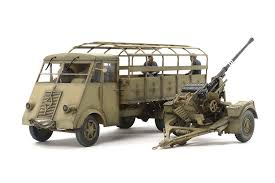 100 Ton Truck Amazoncom Tamiya German 35 AHN Flak Gun Hobby Model Kit