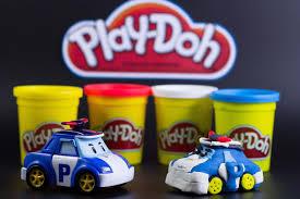 cars pate a modeler play doh robocar poly