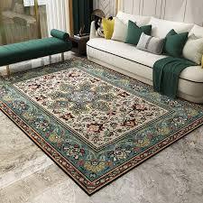 großhandel europäische gericht stil teppiche für wohnzimmer große größe hohe qualität home teppich schlafzimmer verdicken salon teppich vintage