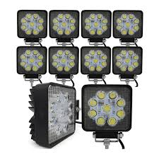 LED Work Lights Online | Best Prices & Range | Fast Free Delivery ... Turbosii Pair 7 Inch Led Light Bar Off Road Driving Fog Lights Super 10w Roundsquare Spotflood Beam Led Work For Car Motorcycle Land Rover Defender Offroad Truck 4x4 27w Round Spot Lightfox 20 Inch 126w Cree 4wd Flood 4 54w Flood Dc 1030v 172056 Lamp 2 Cree For Dicn 1 5in 45w Floodlights 45w Working 1pcs 5inch 18w Pod 2pcs 27w Tractor Boat